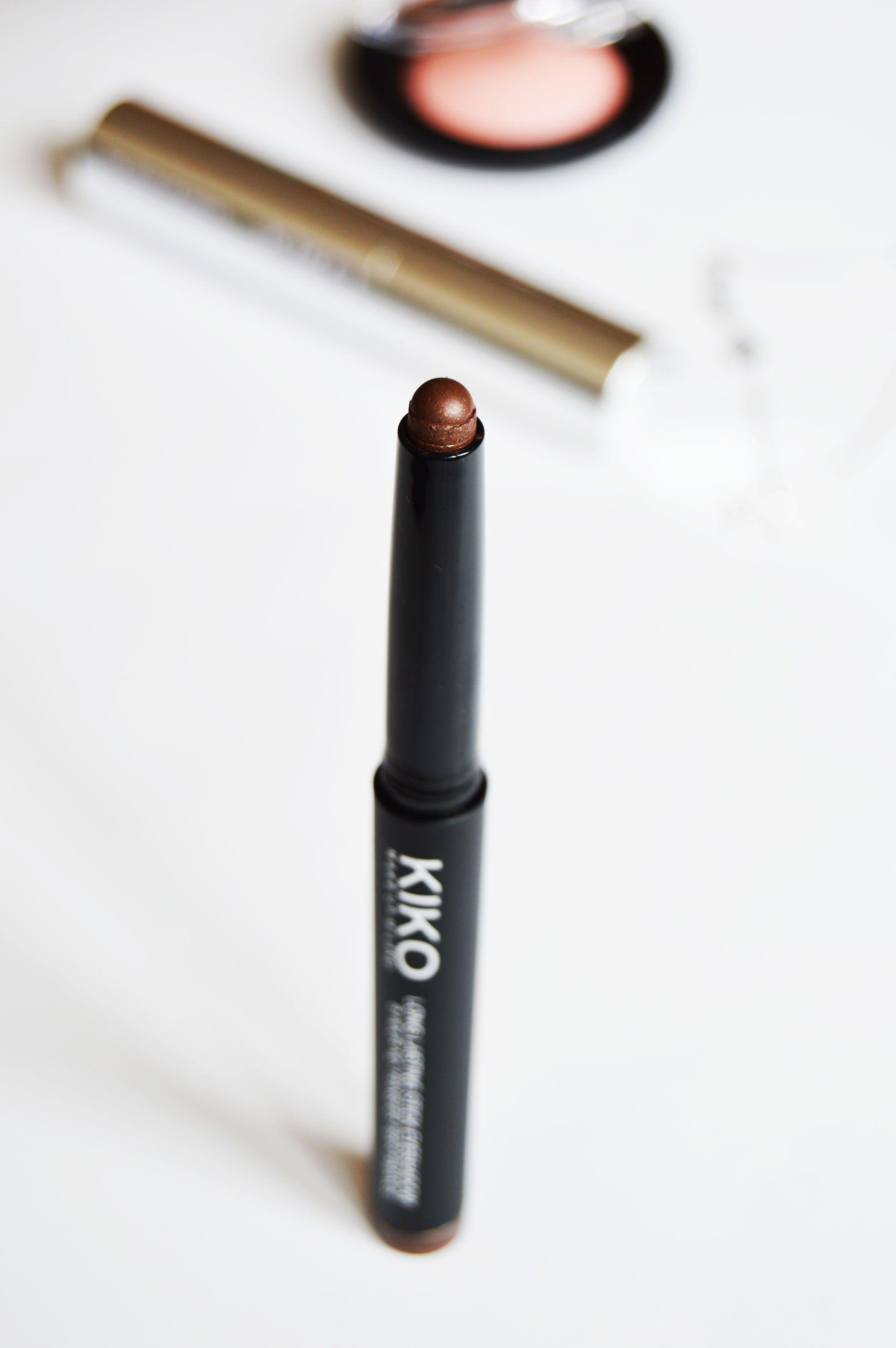 Kiko Long Lasting Eyeshadow in 04 Golden Chocolate Review