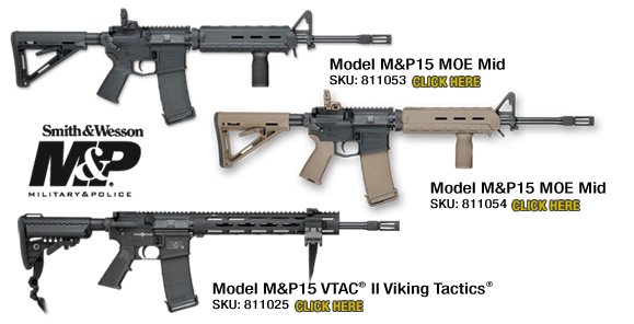 NEW M&P15 MOE Mid Rifles