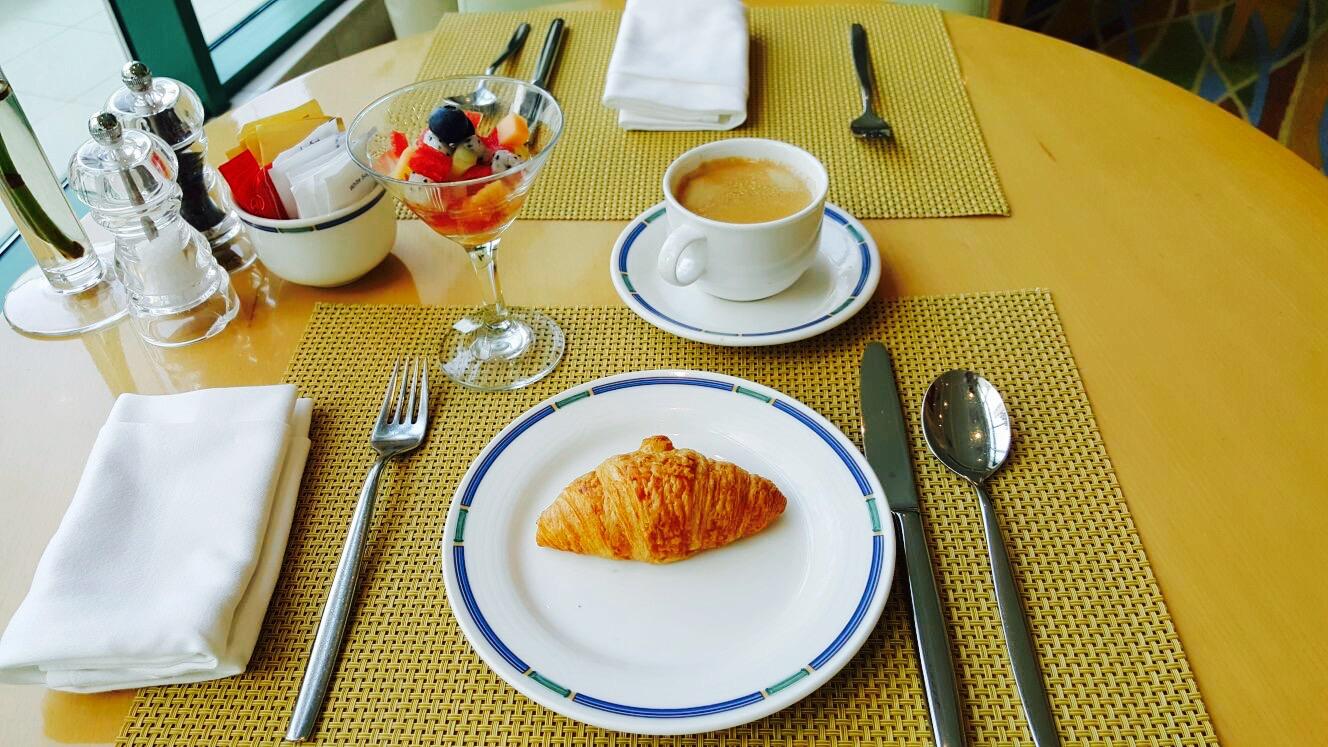 Mic-dejun...minimalist :)