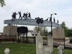Battle of Lundy's Lane Niagara Falls The Loyalist Trilogy Elaine Cougler Historical Fiction