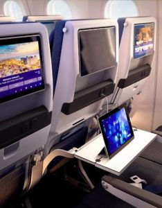 Entertainment system also travel classes rh elal