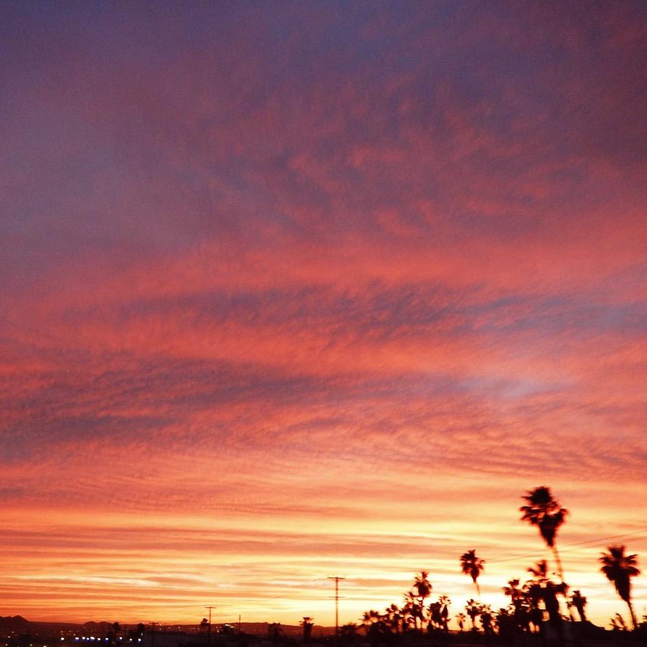 Sunset in Cabo San Lucas, Mexico - elanaloo.com