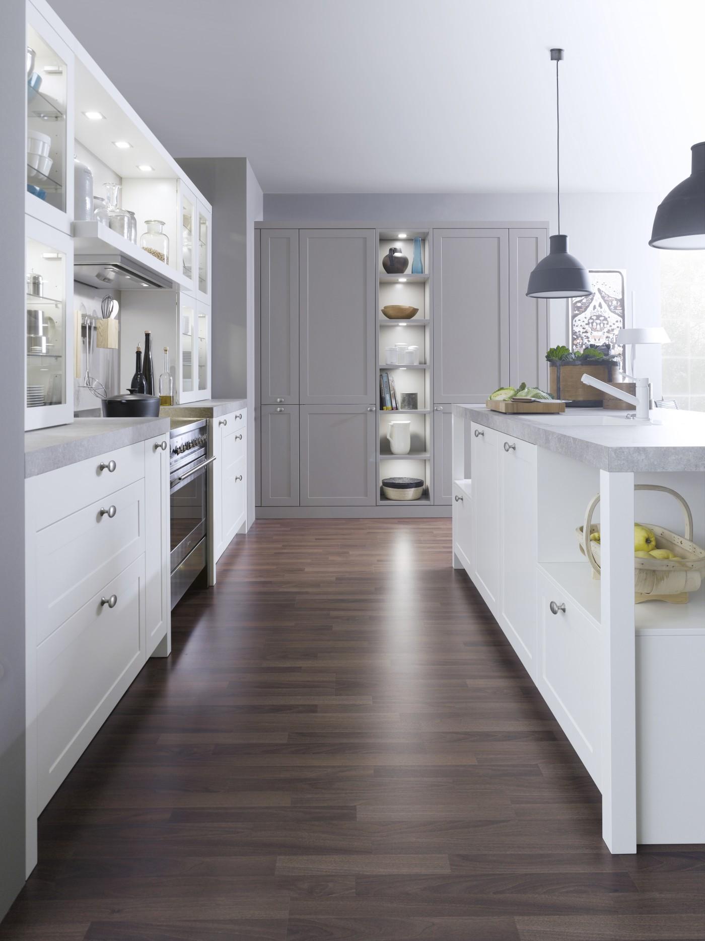 best kitchen appliances brand undermount porcelain sink leicht carre-fs kitchens - luxury contemporary ...