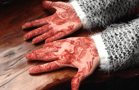 تفسير حلم الحناء في اليد