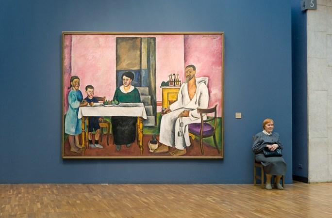 Konchalovsky's Family Portrait, State Tretyakov Gallery