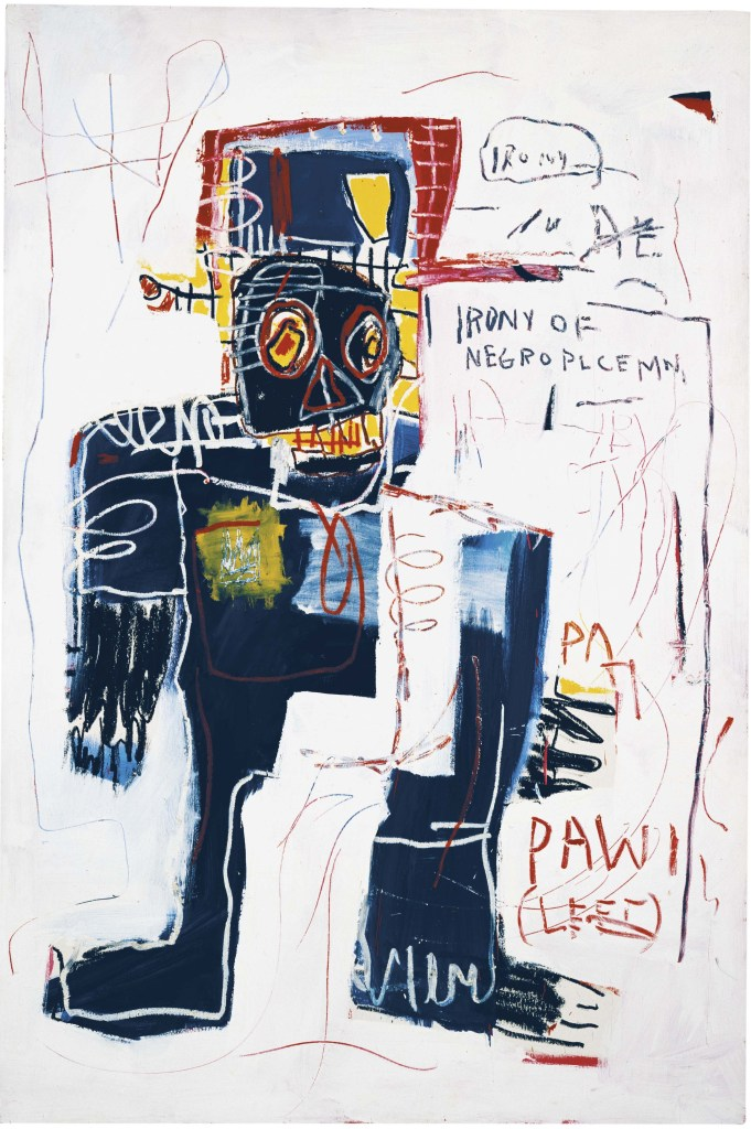 La ironía de un policía negro, 1981 © Estate of Jean-Michel Basquiat. Licensed by Artestar, New York