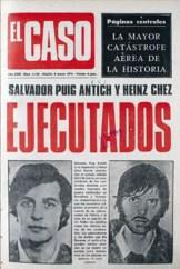 El Caso, periódico de sucesos español del que el artista francés recorta imágenes de cadáveres