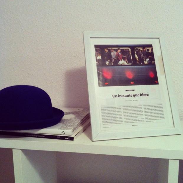 """""""Un instante que hiere"""", por Juan José Millas en el País Semanal (noviembre de 2013)"""