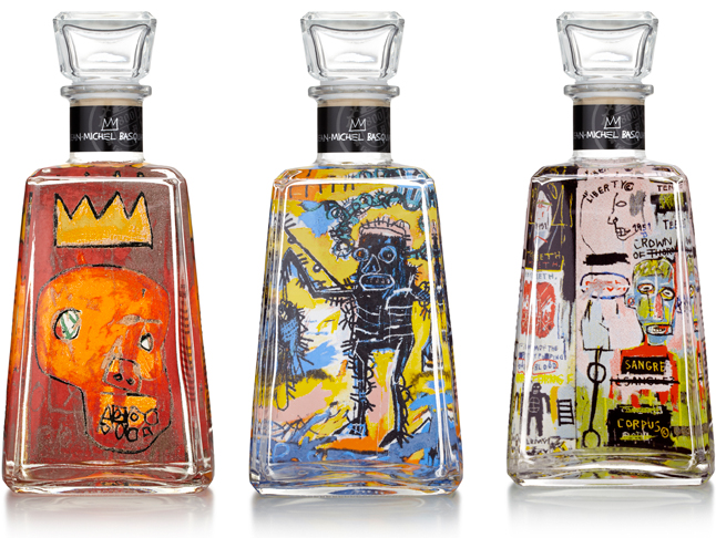 Tequila 1800 basquiat