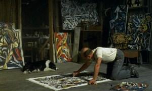 """Fotograma de la película """"Jackson Pollock, la vida de un creador"""" (2000)."""