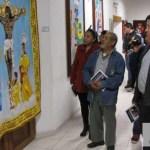 Artesanos mexicanos exhiben obras de dioses  y personajes prehispánicos