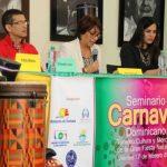 ORGANIZAN SEMINARIO SOBRE EL CARNAVAL DOMINICANO