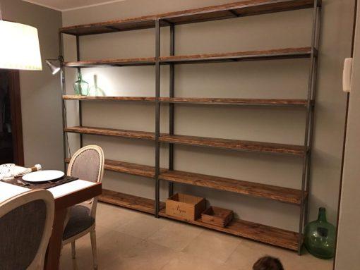 Muebles industriales a medida tienda restauraci n el atelier del arte sano - Estanteria a medida ...