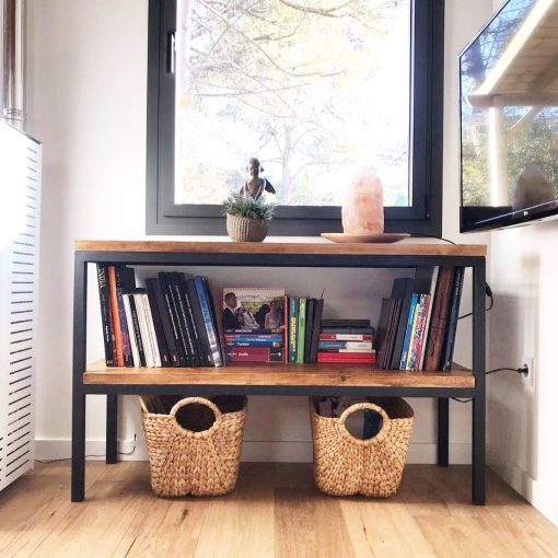 Muebles a medida muebles industriales a medida for Libreria estilo industrial
