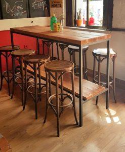 Muebles vintage muebles estilo industrial a medida el for Barra estilo industrial