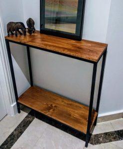 Mesa-auxiliar entrada-diseño industrial