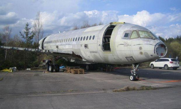 TAC02 todavía con alas. DTMB