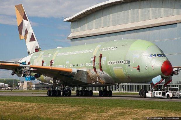 A380 de Etihad en TLS (Clément Alloing)