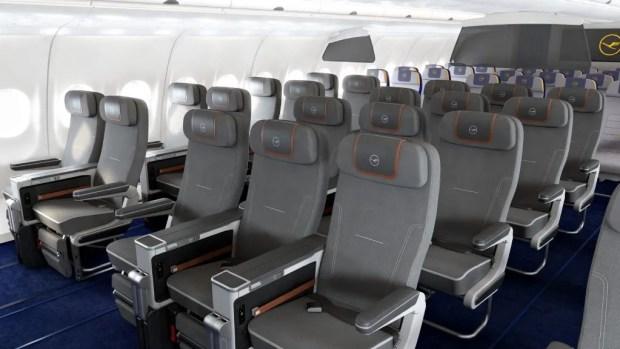 Premium Economy de Lufthansa en sus A340 (Lufthansa) 0234ea2c0d9