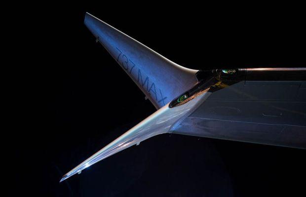 Split Scimitar Winglet, el característico winglet del 737MAX (Boeing)