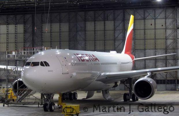 A330-200 Oaxaca (por Martin J. Gallego en Flickr)