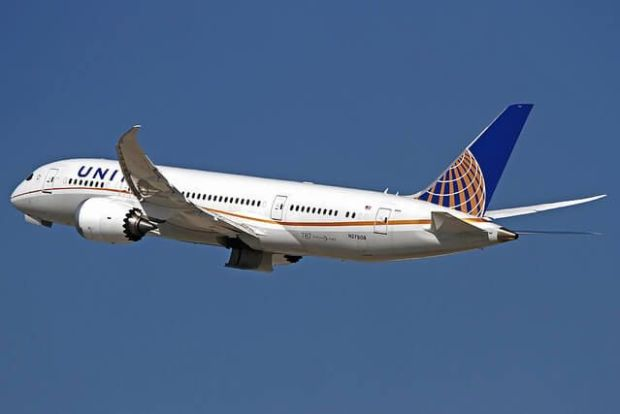 Precioso 787-8 de United saliendo de LAX (wilco737 Flickr)