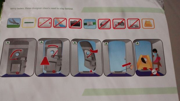 Folleto de seguridad de Kulula
