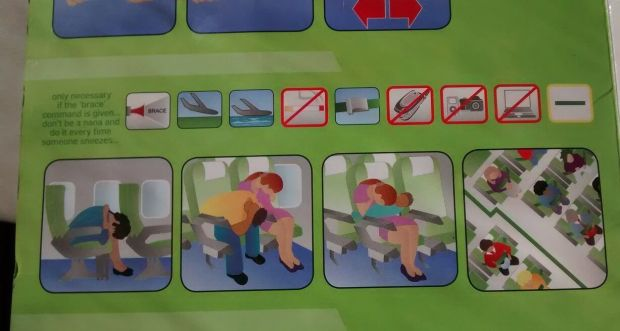 kulula 737 safety card