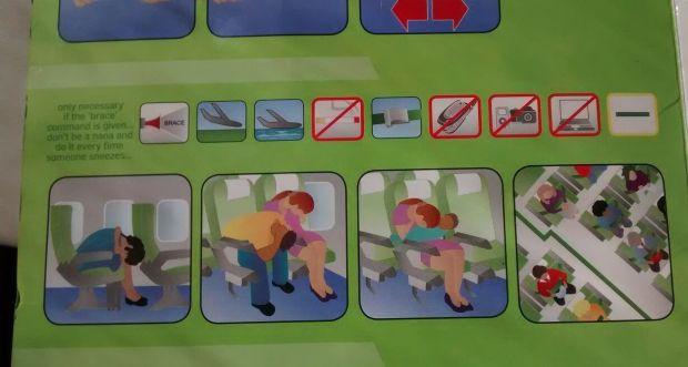 kulula 737 safety card