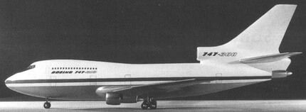 Boeing 747 trijet