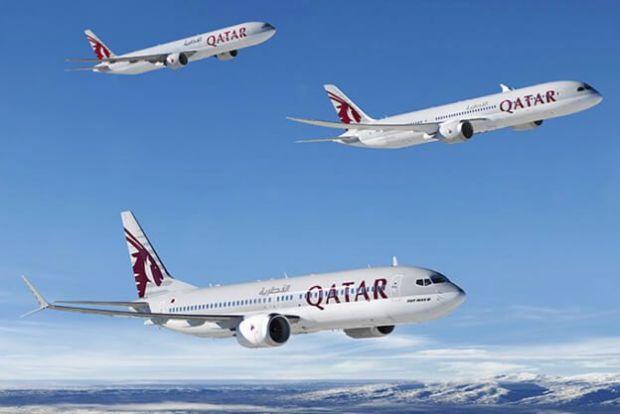 Boeing 737 Qatar