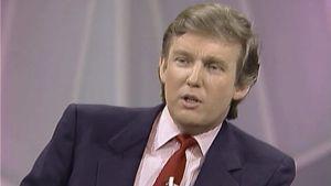 El jovencito Donald Trump