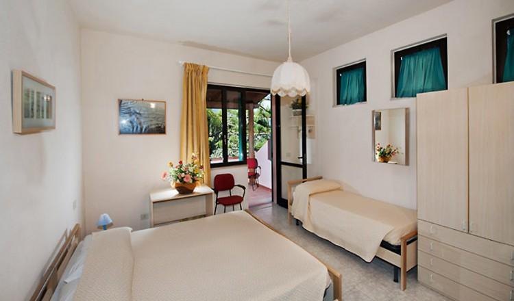 Hotel Casa Rosa Elba Island  Hotel on the Biodola Beach