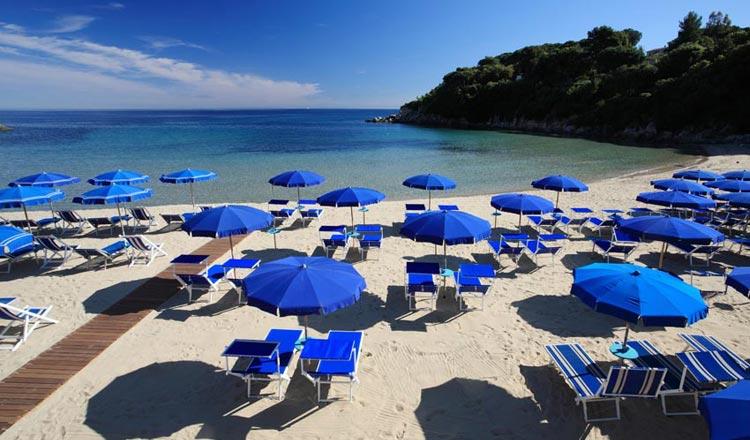 Isola dElba  Hotel Valle Verde  Spiaggia di Spartaia