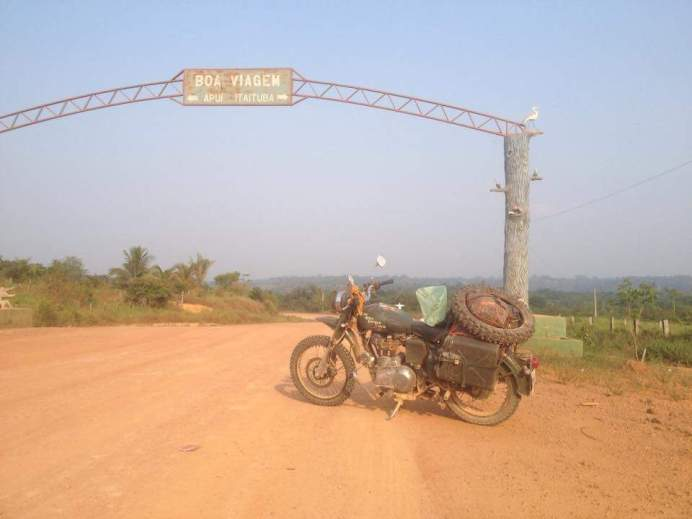 Saindo de Jacareacanga