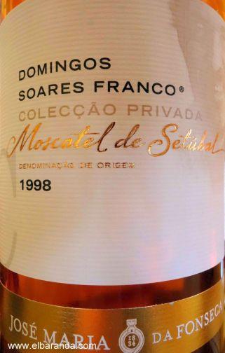 1998 Cognac. Moscatel de Setúbal