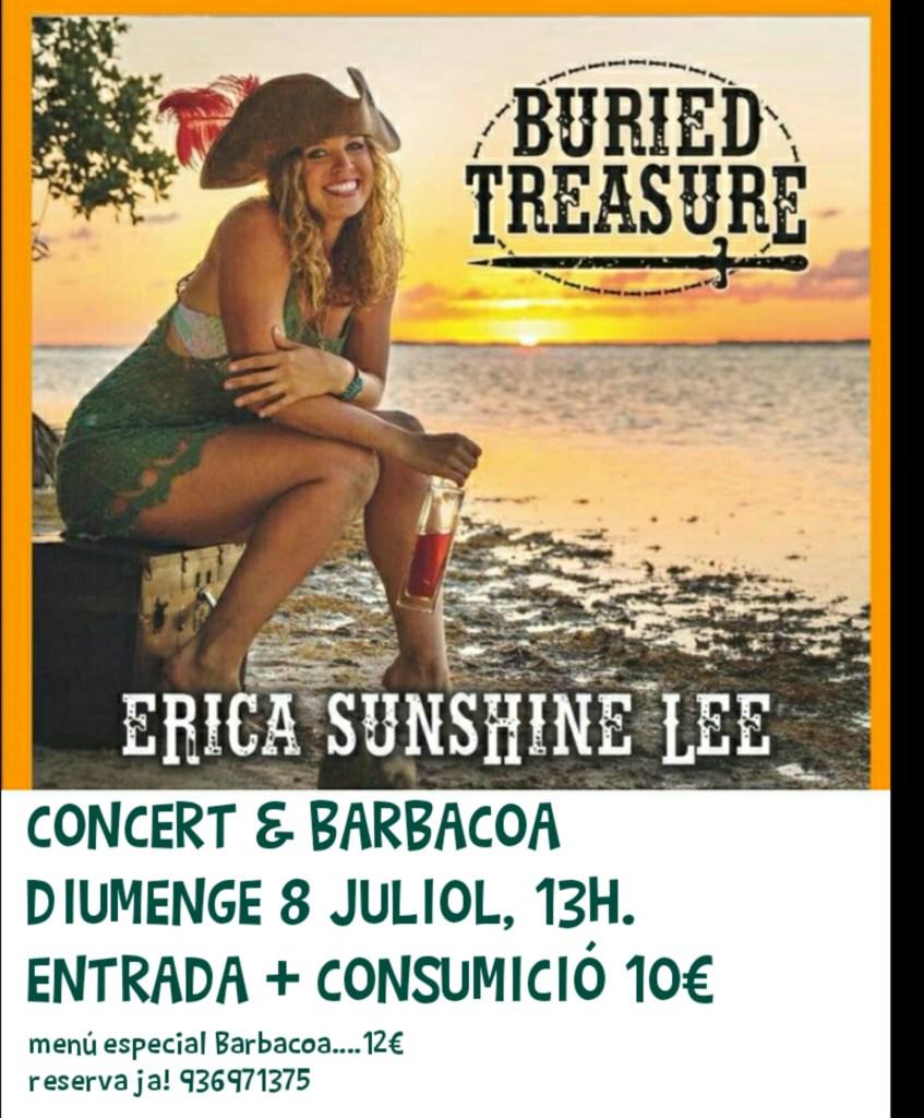 CONCIERTO de ERICA SUNSHINE LEE!