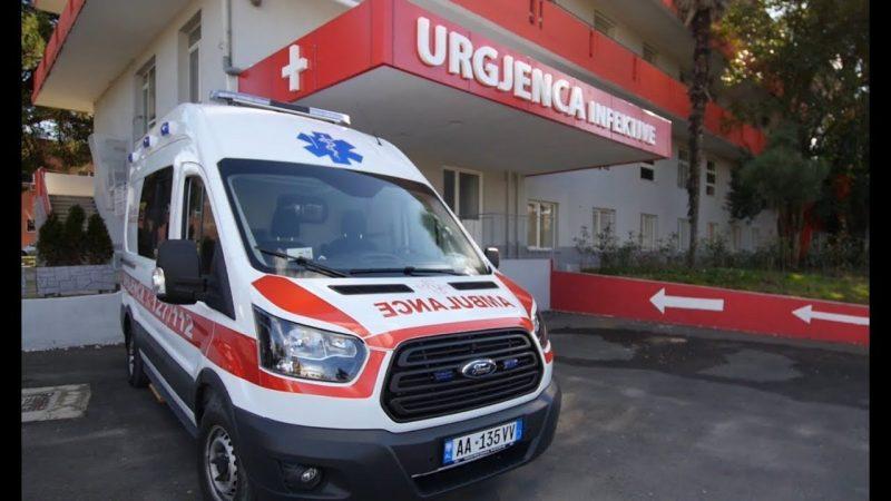 Elbasan  Dy raste të reja me Covid 19  një prej tyre niset me urgjencë drejt Tiranës