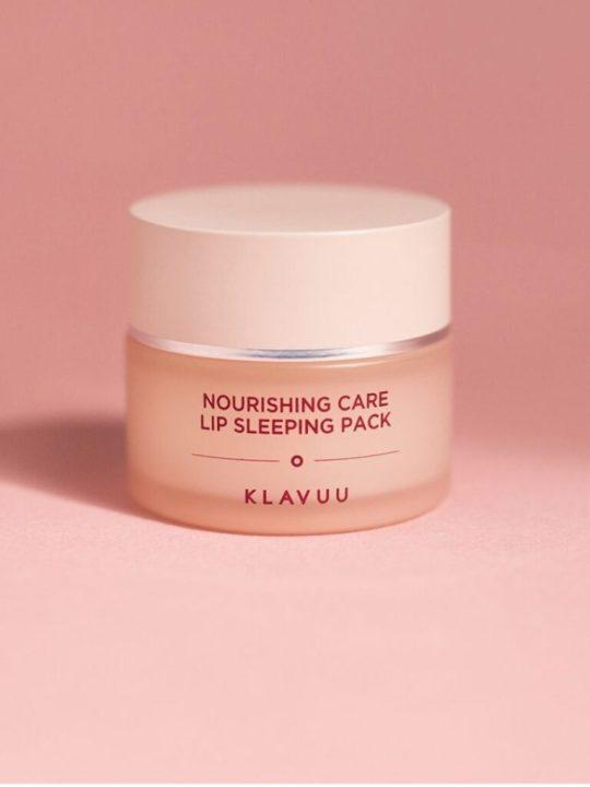 nourishing care lip sleeping pack klavuu (2)