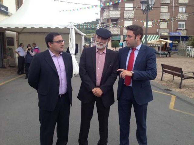 Pedro Fernández, Jan e Iván Alonso