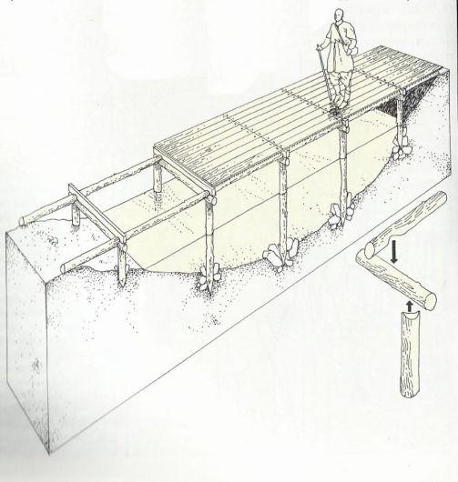 Reconstrucción puente madera