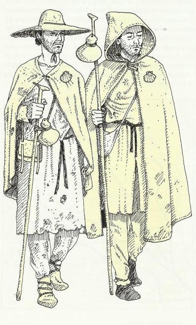 vestimenta peregrinos