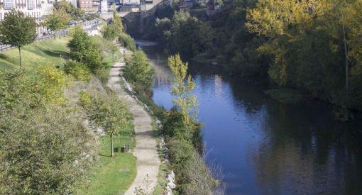 paseo el río sil