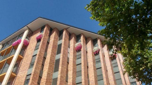 balcones floridos