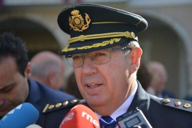 Ubaldo de la Torre, comisario de Policía. / QUINITO