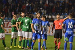 Imagen de archivo de un partido de la Deportiva / QUINITO