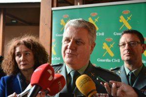 El general jefe de zona en Castilla y León, José Manuel Díez Cubelos. /  QUINITO