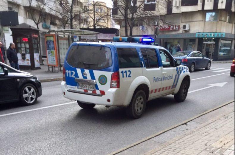 atropello calle camino de santiago ponferrada policía local policía municipal