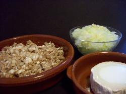 empanadilla de champinones 2 - Empanadillas al horno de champiñones, queso de cabra y tomillo