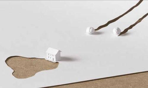 papel1 - Arte con una hoja de papel